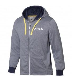 VESTE DE JOGGING DE TENNIS DE TABLE STIGA HOODSHIRT