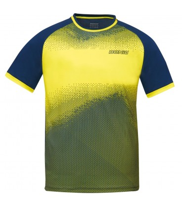 TEE-SHIRT DE TENNIS DE TABLE DONIC AGIL JAUNE