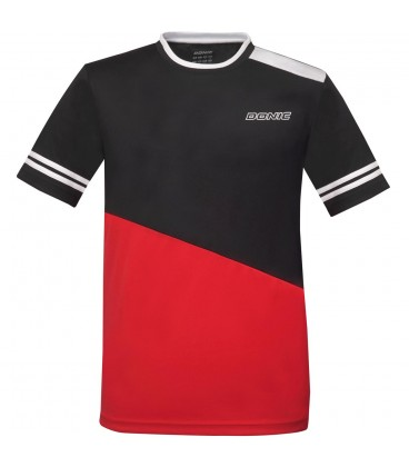 TEE-SHIRT DE TENNIS DE TABLE DONIC STATIC ROUGE