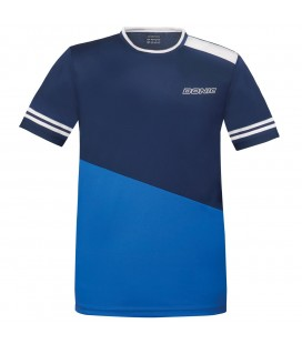 TEE-SHIRT DE TENNIS DE TABLE DONIC STATIC BLEU