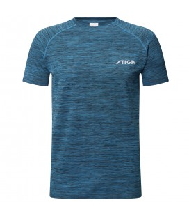 TEE-SHIRT DE TENNIS DE TABLE STIGA ACTIVITY BLEU