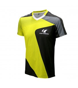 TEE-SHIRT DE TENNIS DE TABLE CORNILLEAU ADRENALINE JAUNE