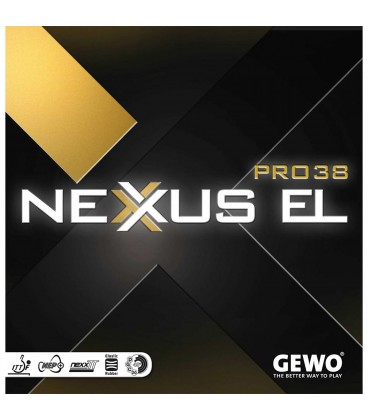 REVETEMENT DE TENNIS DE TABLE GEWO NEXUS PRO EL 38
