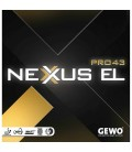 REVETEMENT DE TENNIS DE TABLE GEWO NEXUS PRO EL 43