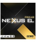REVETEMENT DE TENNIS DE TABLE GEWO NEXUS PRO EL 48