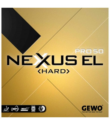 REVETEMENT DE TENNIS DE TABLE GEWO NEXUS HARD EL 50
