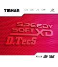 REVETEMENT DE TENNIS DE TABLE TIBHAR SPEEDY SOFT XD DTECS