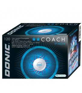 DONIC COACH 2 ETOILES PLASTIQUE 120 BALLES