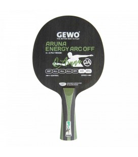 BOIS DE TENNIS DE TABLE GEWO ARUNA ENERGY ARC OFF