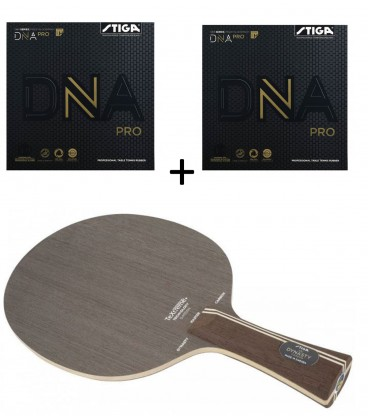 RAQUETTE DE TENNIS DE TABLE STIGA DYNASTY + DNA PRO