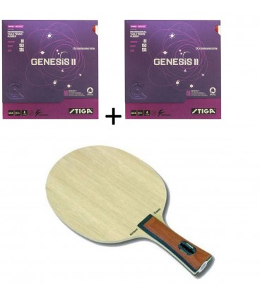 RAQUETTE DE TENNIS DE TABLE STIGA ALLROUND + GENESSIS