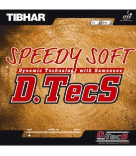 TIBHAR SPEEDY SOFT DTECS - REVETEMENT TENNIS DE TABLE