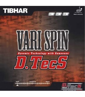 TIBHAR VARI SPIN DTECS - REVETEMENT TENNIS DE TABLE