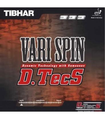 TIBHAR VARY SPIN DTECS - REVETEMENT TENNIS DE TABLE