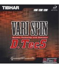 TIBHAR VARI SPIN DTECS - REVETEMENT TENNIS DE TABLE