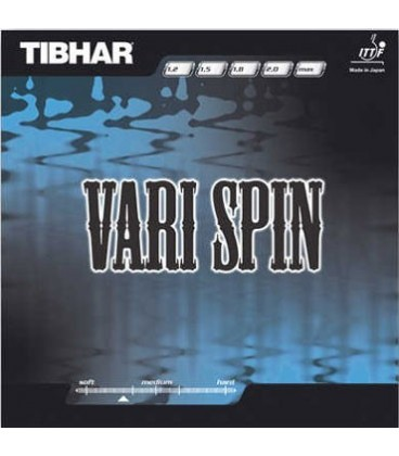 TIBHAR VARY SPIN - REVETEMENT TENNIS DE TABLE