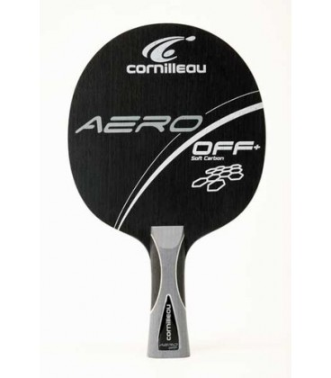 BOIS DE TENNIS DE TABLE CORNILLEAU AERO OFF+ SOFT CARBON